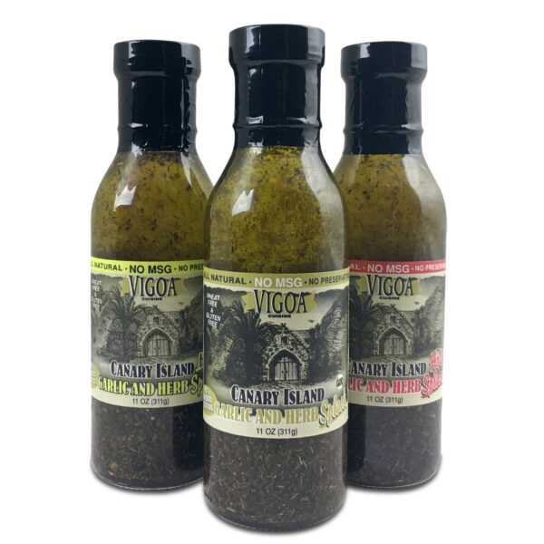 Vigoa Sauce bottle Trio